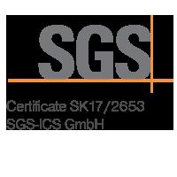 Certifkát SGS