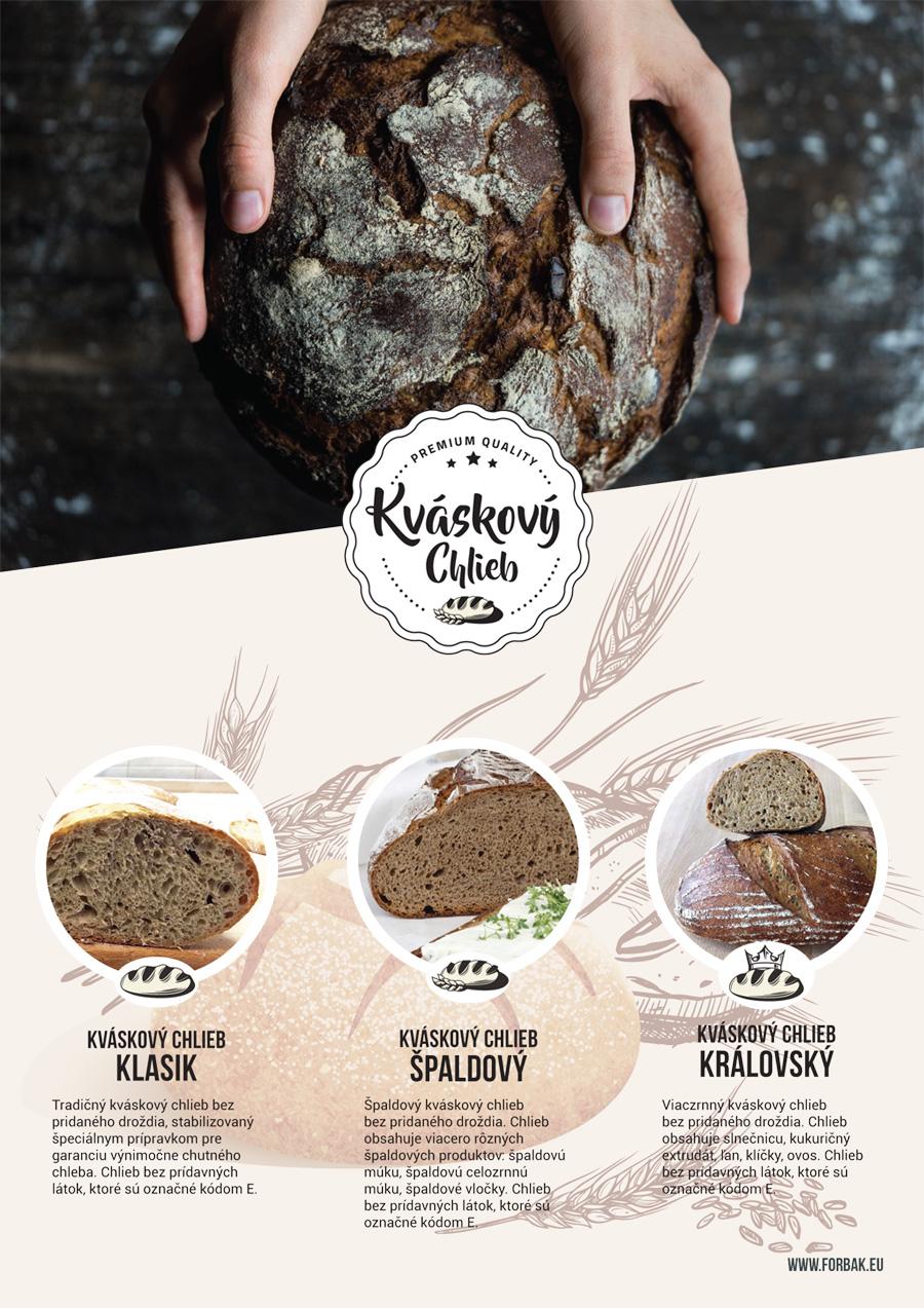 NOVINKA zmes na Kváskový chlieb
